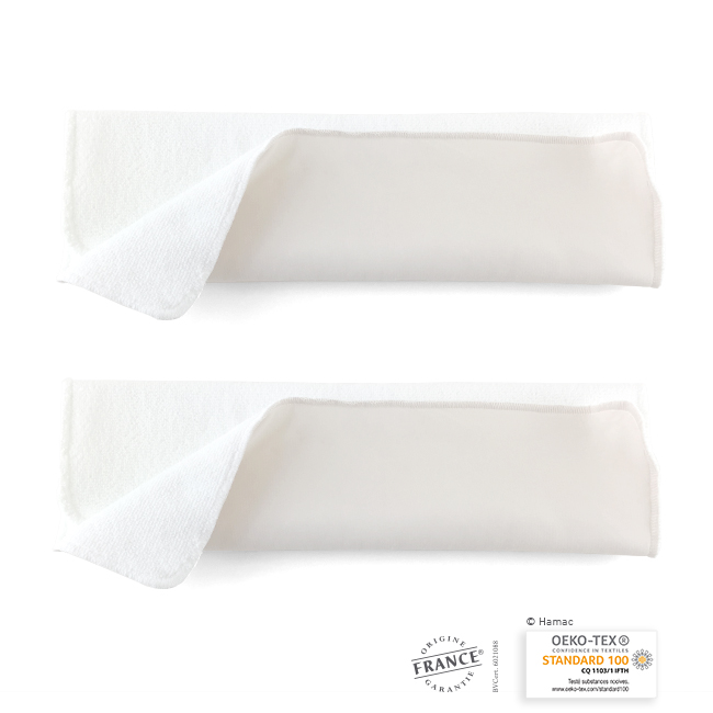 Absorbants lavables en microfibre