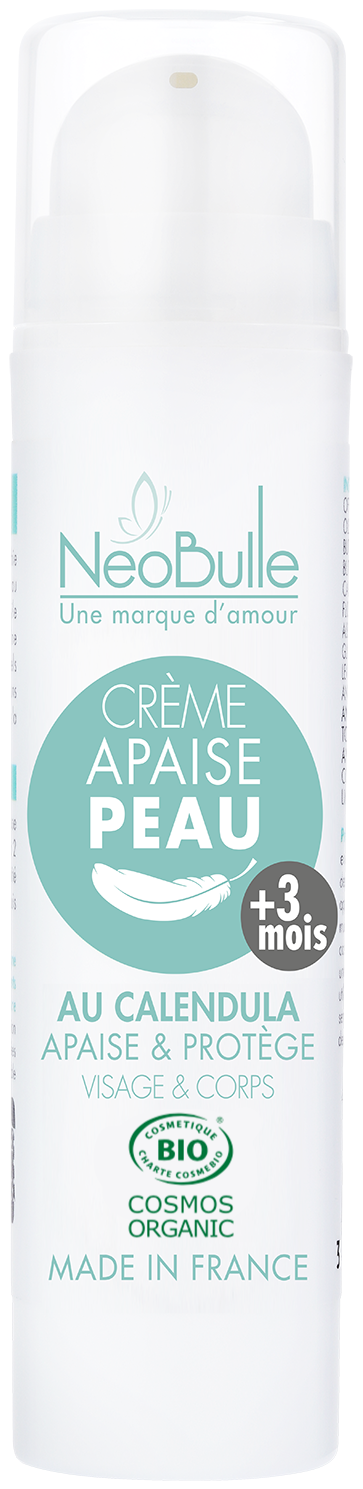 Crème Apaise Peau, au Calendula 50 ml