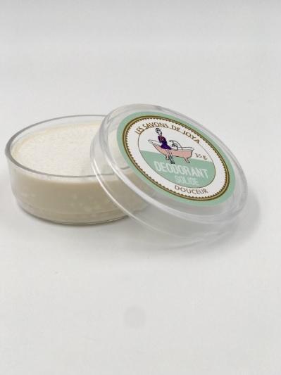 Déodorant boîte sans bicarbonate ni huiles essentielles