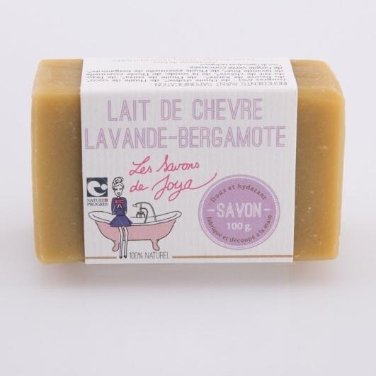 Savon lait de chèvre Lavande et Bergamote