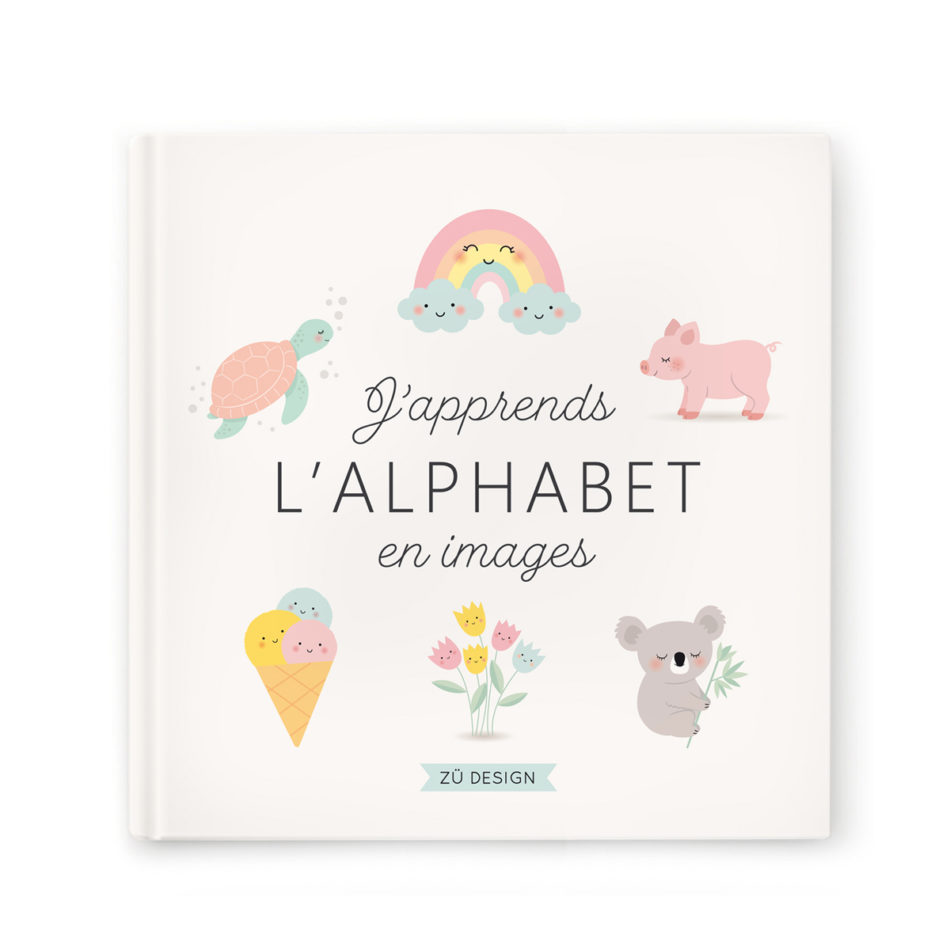 Livre j\'apprends l\'alphabet en images