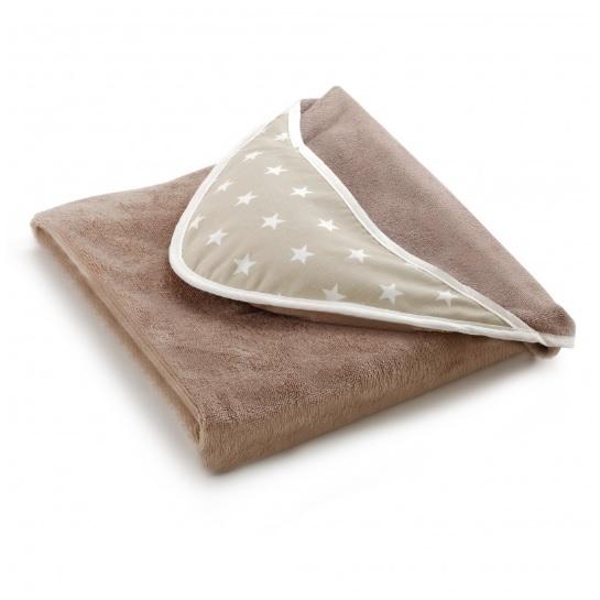 Bain Cocoon, serviette tablier Etoiles beiges