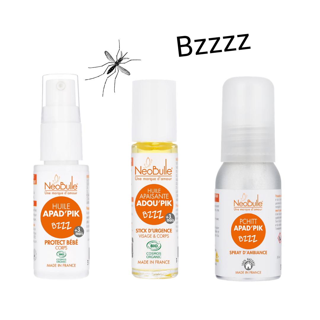 Lot anti-moustiques