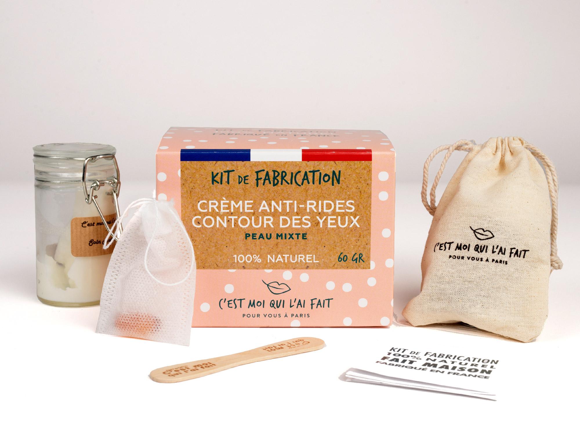 Kit de Fabrication Crème anti-rides et contour des yeux