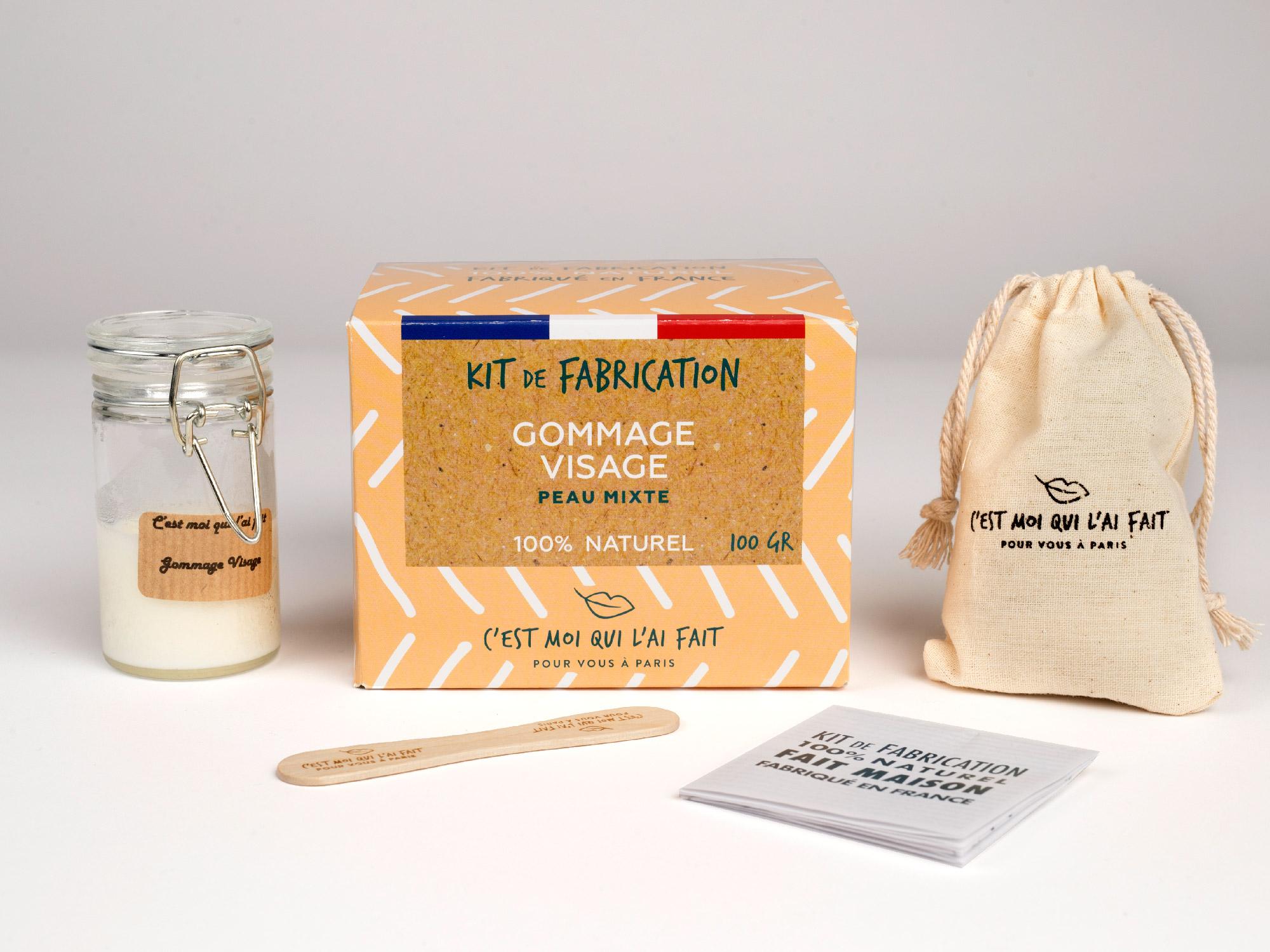 Kit de Fabrication Gommage pour le visage
