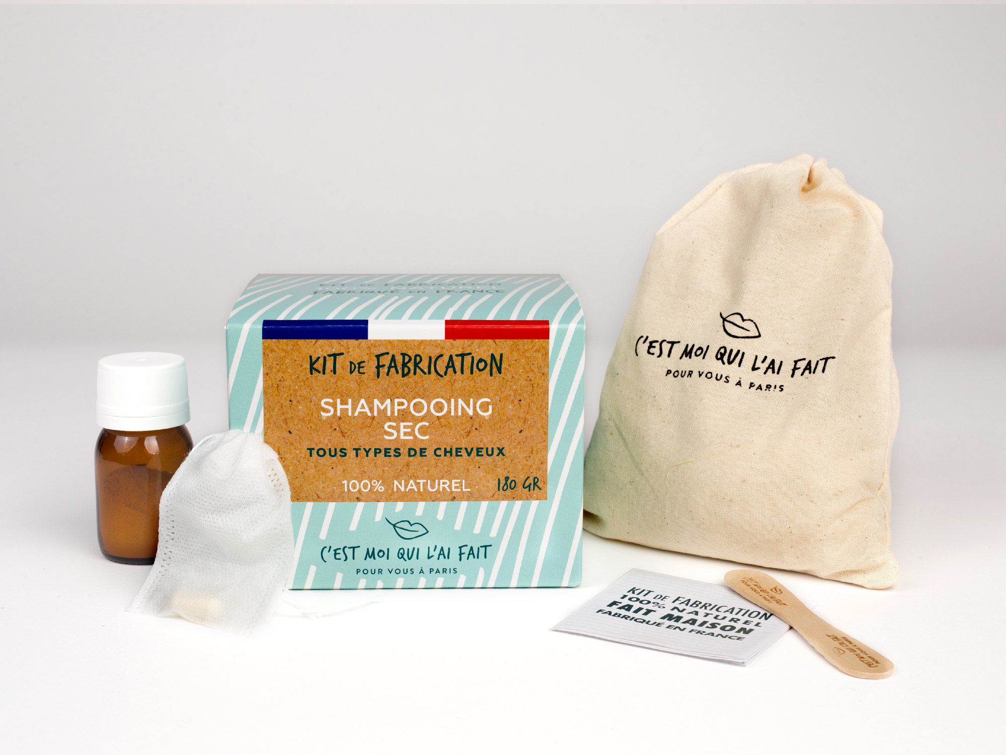 Kit de Fabrication Shampooing sec
