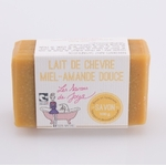 Savon lait de chèvre miel amande douce 1