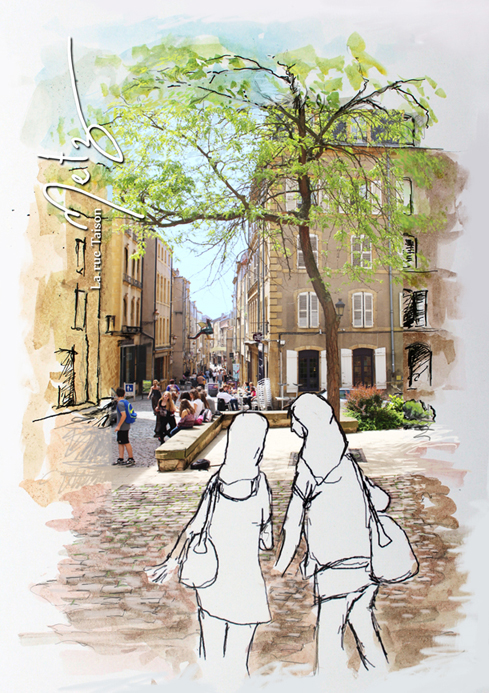 Rue Taison Metz