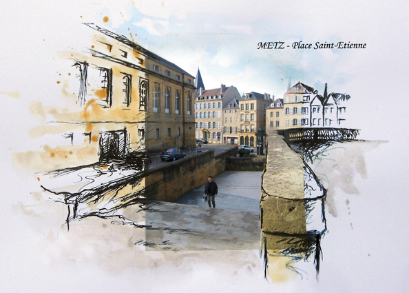 Place St Etienne Metz