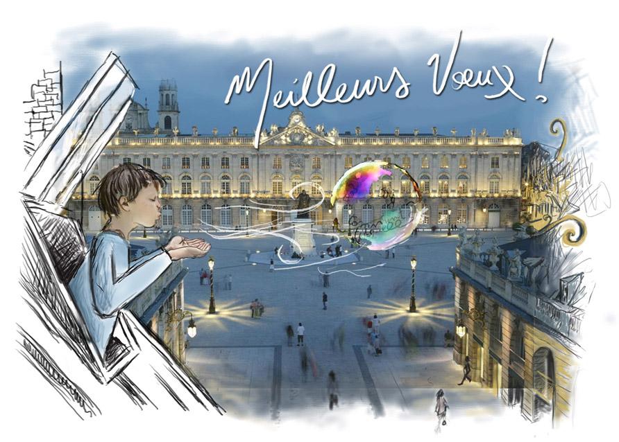 Vœux Place Stanislas bulle