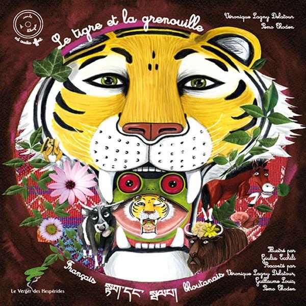 Le tigre et la Grenouille - Livre CD