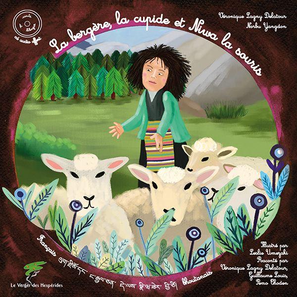 La bergère, l\'arrogante et Niwa la souris - Livre CD
