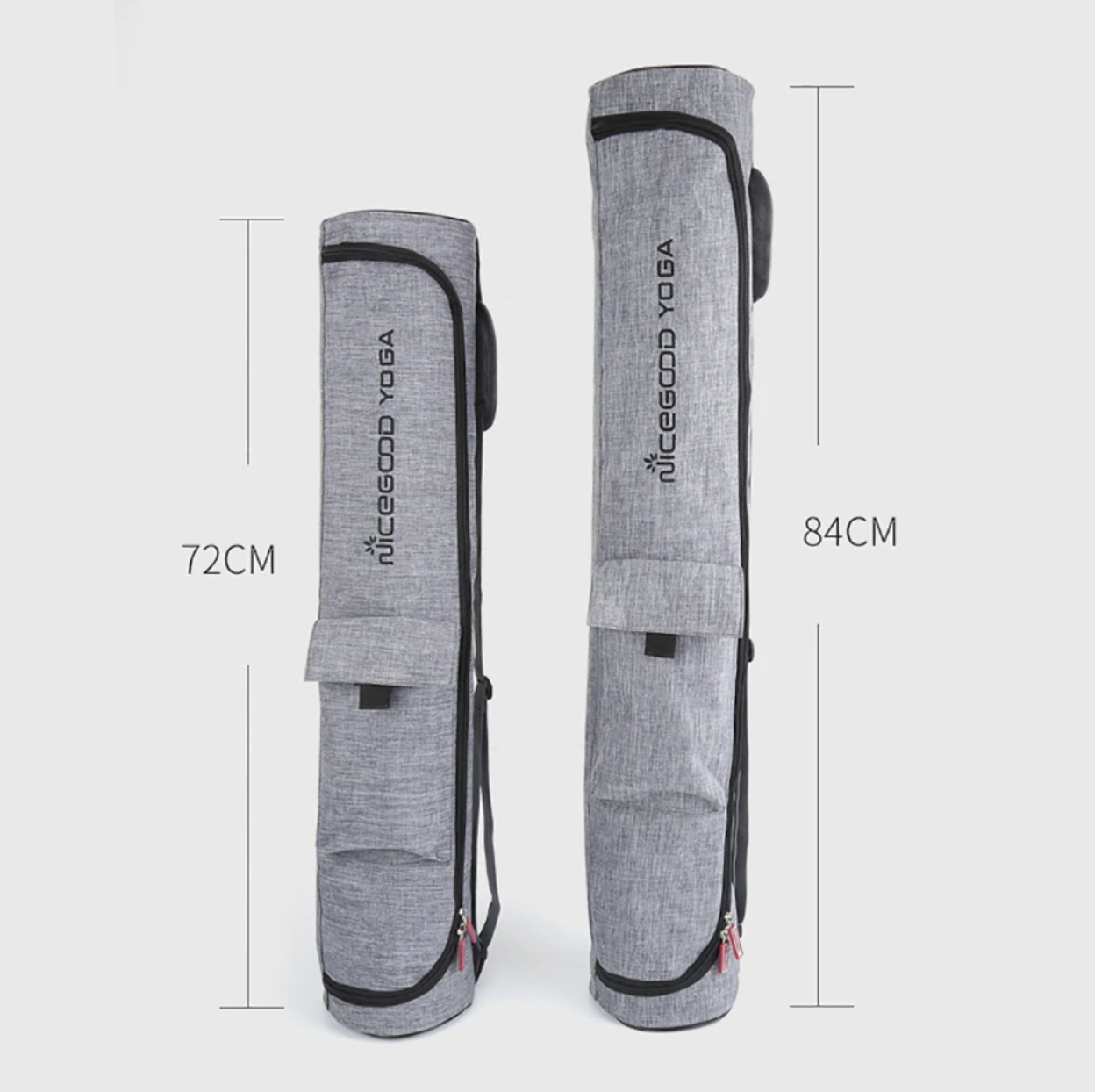 Sac de Yoga en coton et toile imperméable - 2 tailles au choix