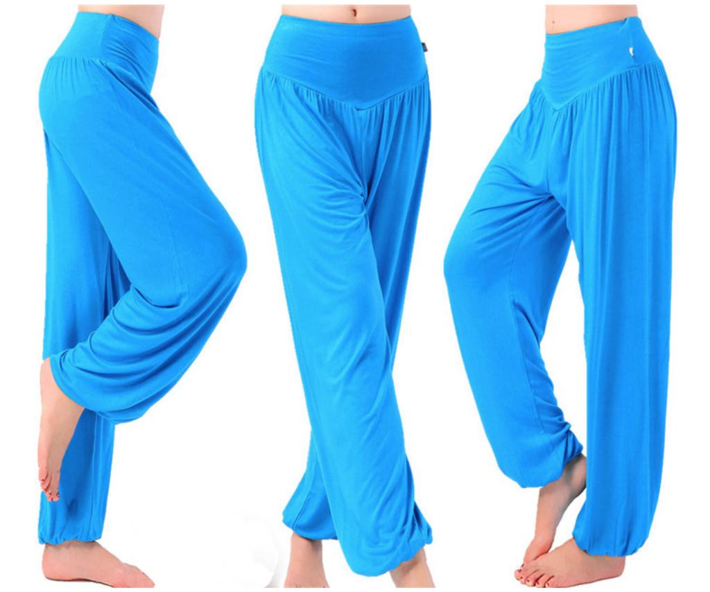 Pantalon ample grande taille - Court ou Long - M au 3XL - bleu
