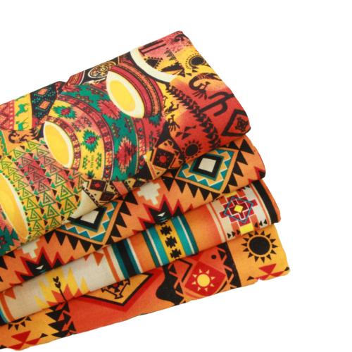 Tissu en coton - Imprimé Ethnique chic - 3 motifs au choix