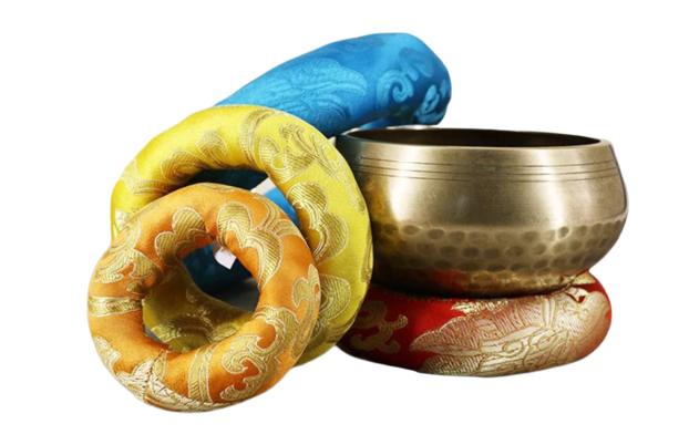 Coussin pour Bol chantant tibétain - 5 Tailles au choix