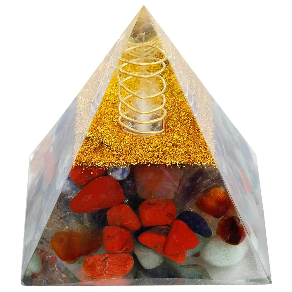 Pyramide Sept Chackras - Générateur et Convertisseur
