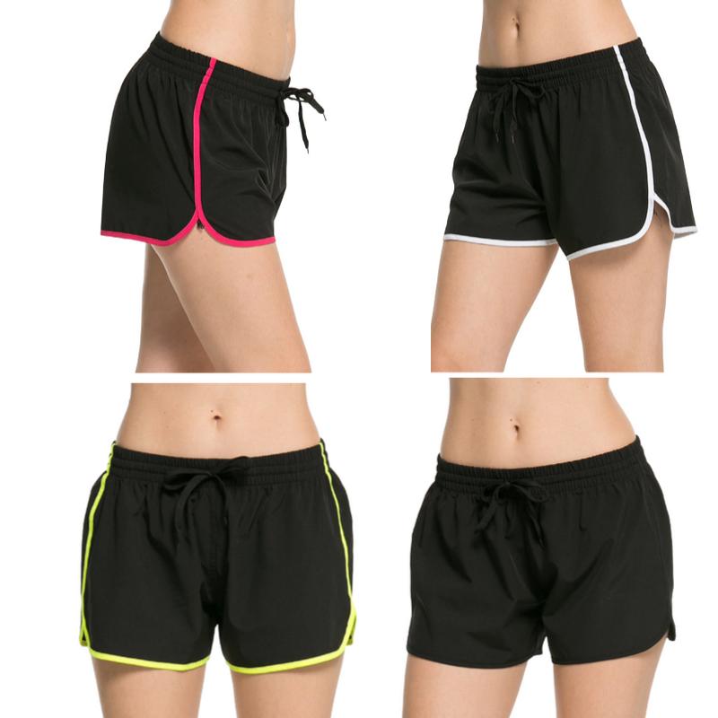 Short de Yoga avec Liseré - Séchage rapide - 4 couleurs - S au XL