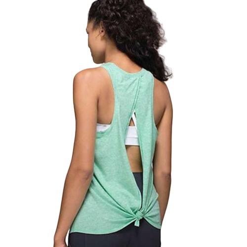 Débardeur de yoga - Ouvert dans le dos