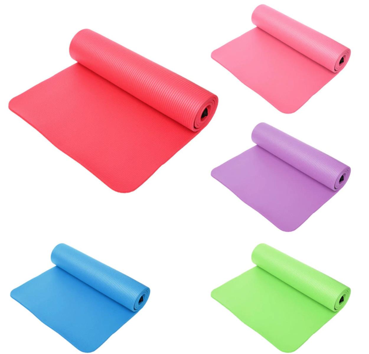 Tapis de Yoga épais - Imperméable - Anti-dérapant - 10 MM