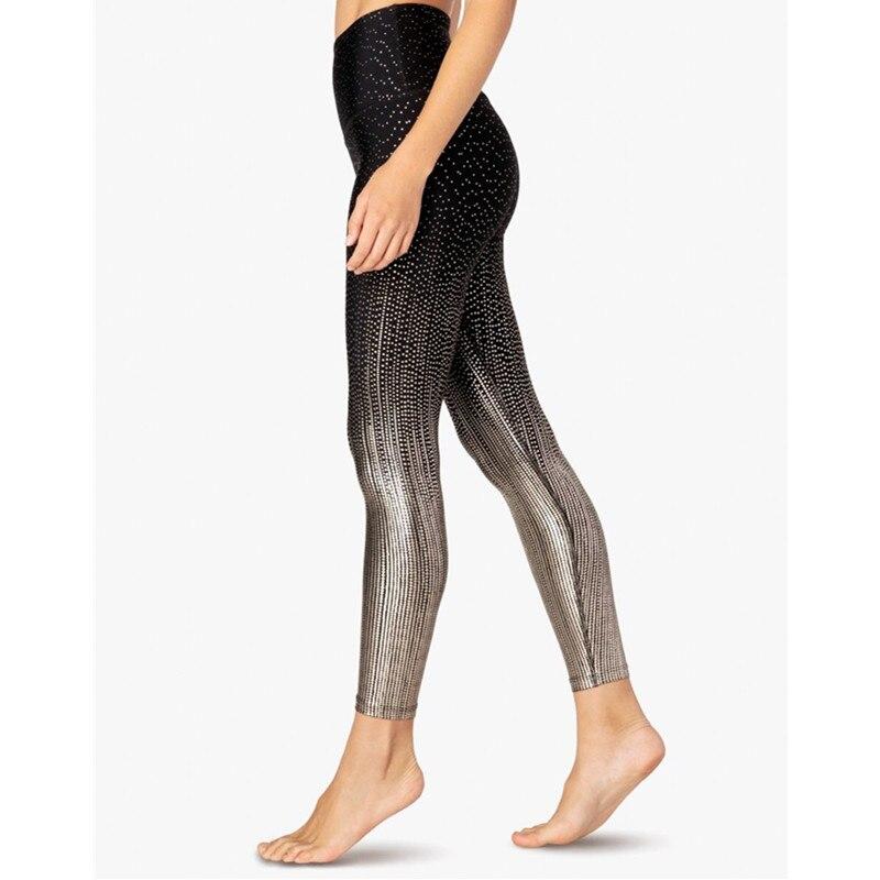 Legging de Yoga - Noël - Petit pois doré - XS au XL
