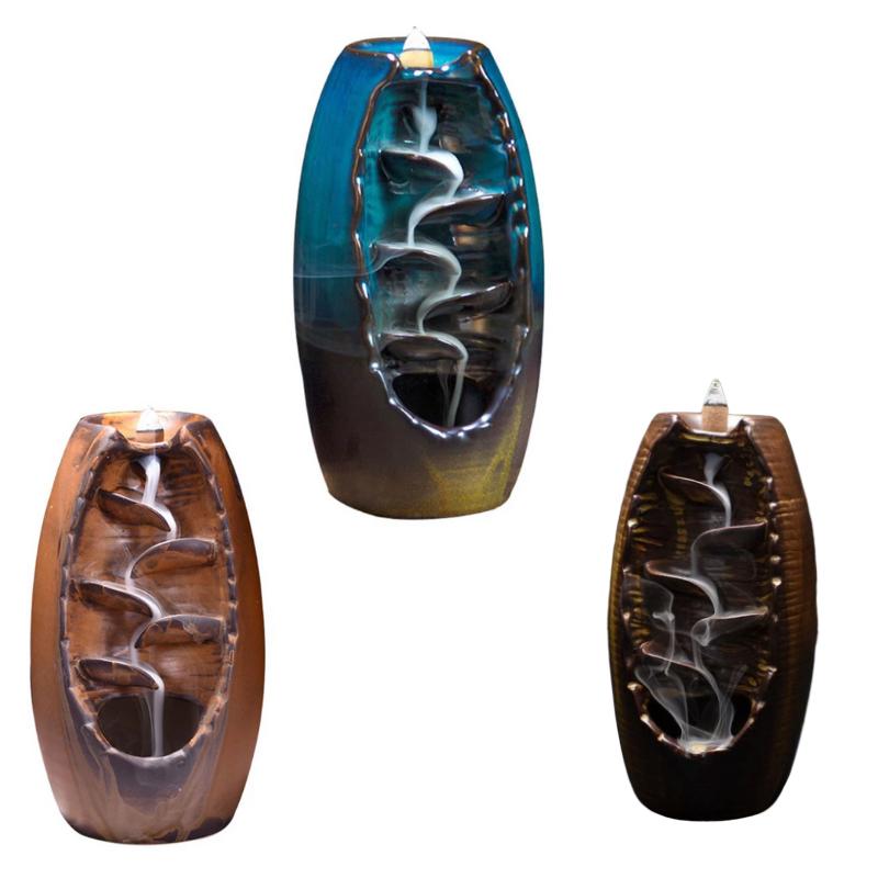 Brûleur pour encens en céramique - Fait à la main
