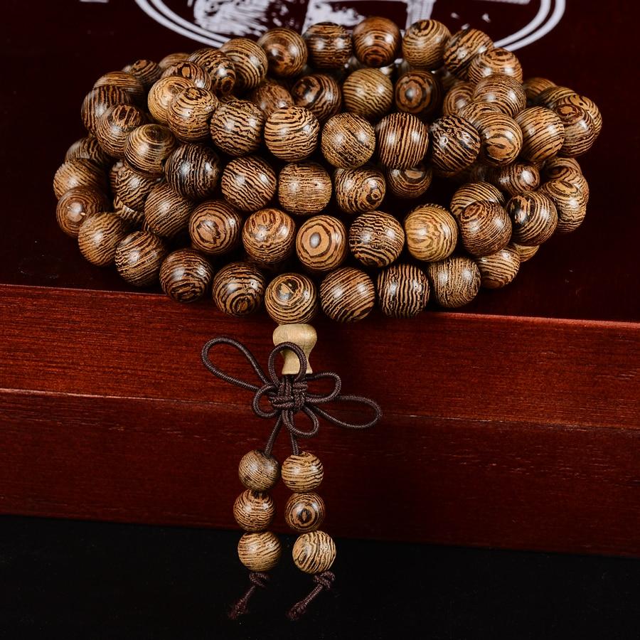 EBENE - Bracelet perles en bois - méditation - prière
