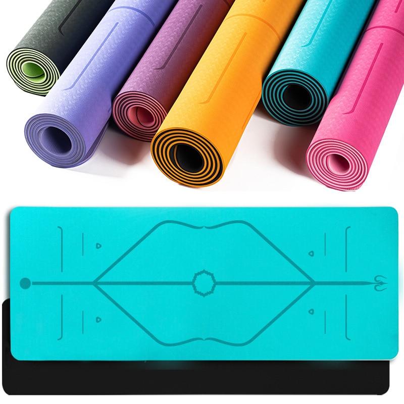 Passion Yoga - Tapis de Yoga Ecologique - Alignement corporel - Aide au positionnement