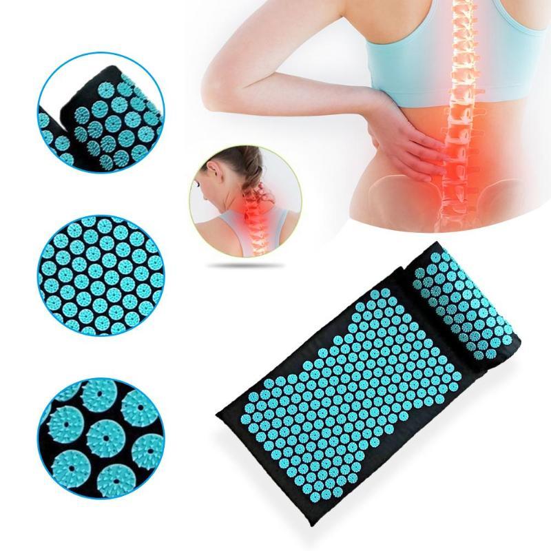 Acupression - Tapis et Oreiller - Thérapie - Massage - Acupuncture