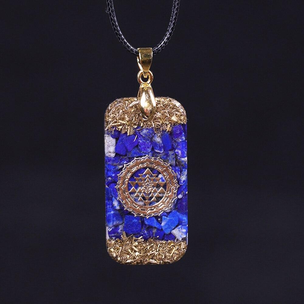 Amulette Mystérieuse - Collier en Lapis lazuli - Pour Stimuler les affaires commerciales