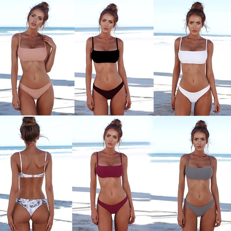 Bikini brésilien - 6 couleurs - S au XL