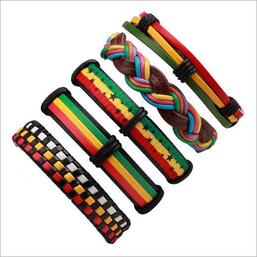 Lot de Bracelets en Cuir - Homme ou Femme