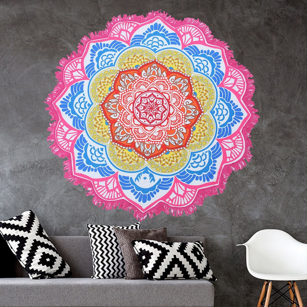 Tapis de méditation - Mandala rond