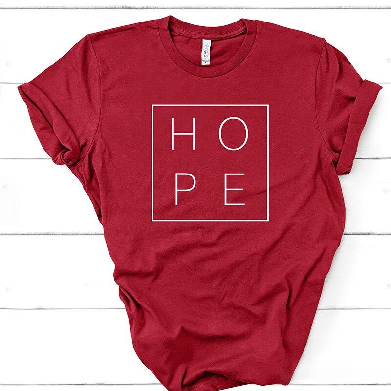 T-shirt imprimé Hope - Espoir