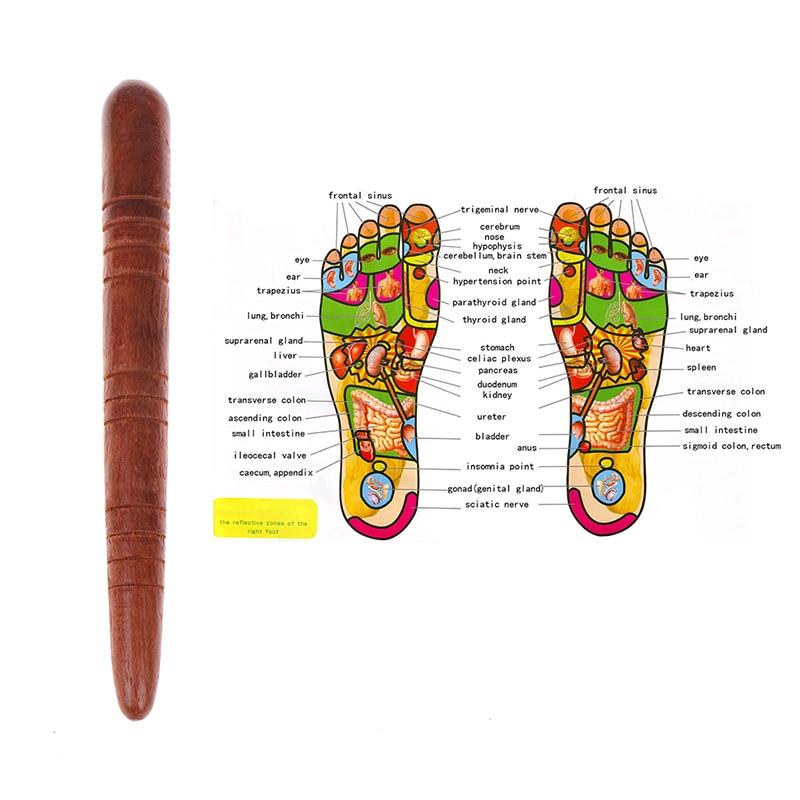 Bâton de Massage des Pieds - Thaïlandais - Bois