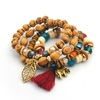 Manava - Bracelets en perles naturelles bois