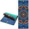 Tapis de yoga effet velours - Motifs indiens - Ecolo - 6 MM - Passion Yoga