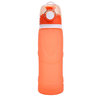 Gourde pliable - En silicone alimentaire - 750 ML - orange - passion yoga