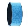 Roue de yoga bleu - 33 cm - 180 kg