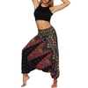 Sarouel Hindi de Méditation - pantalon large noir
