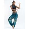 Bleu ciel - Pantalon de méditation en coton -  Hippie chic