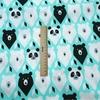 Tissu en coton - Imprimé Ours Noirs et Blancs
