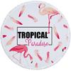 Serviette de plage - Tapis de méditation - 150 CM - Motif Tropical paradise - 16 Modèles au choix