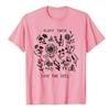 T-Shirt imprimé zen - Sauvons les Abeilles- rose - taille S
