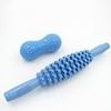 Set Rouleaux de Yoga - Démontable - Massage musculaire - bleu