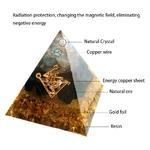 Pyramide Génératrice de Fortune - Contre les mauvais esprits - 4 Tailles