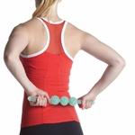 détails Bâton de yoga - Rouleau de Massage avec Picots - 6 Couleurs