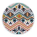 Serviette de méditation ou de plage ronde Mandala - 12 motifs - ethnique