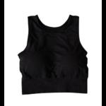 Brassière de Yoga respirante - 5 couleurs - S au L - Noir