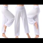 Pantalon ample grande taille - Court ou Long - M au 3XL - blanc